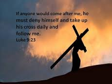 Carry your cross daily