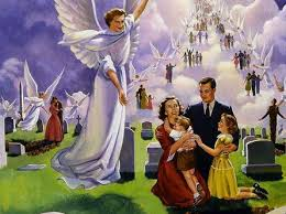 People going to heaven