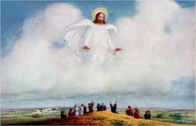 Acts 1:11 This same Jesus, who was taken up from you into heaven, will so come in like manner as you saw Him go into heaven.""