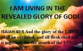 Isaiah 40 5 The glory of the Lord