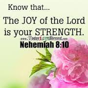 The joy of thr Lord